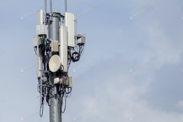 Telekommunikation GSM-Turm