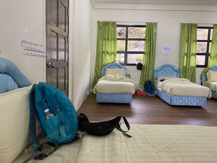 Hostel at Laban Rata