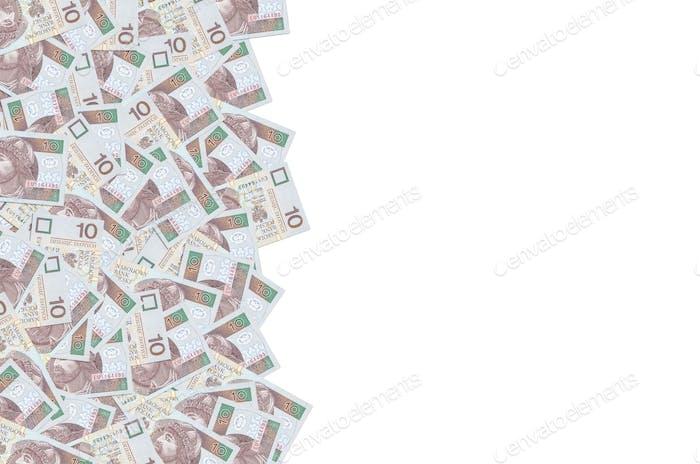 Mieszko I príncipe de Polonia retrato de dinero polaco 10 zlotys