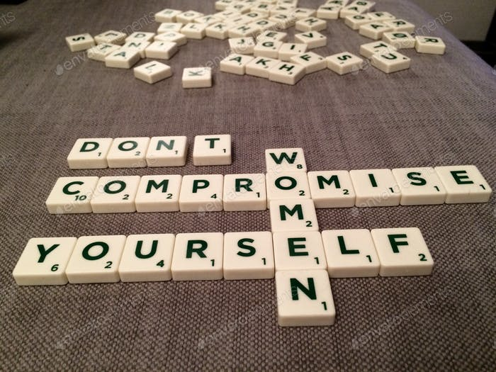 """""""Don't compromise yourself. You are all you've got."""" J.Joplin"""