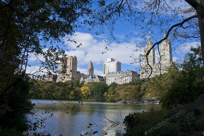 Central Park, October