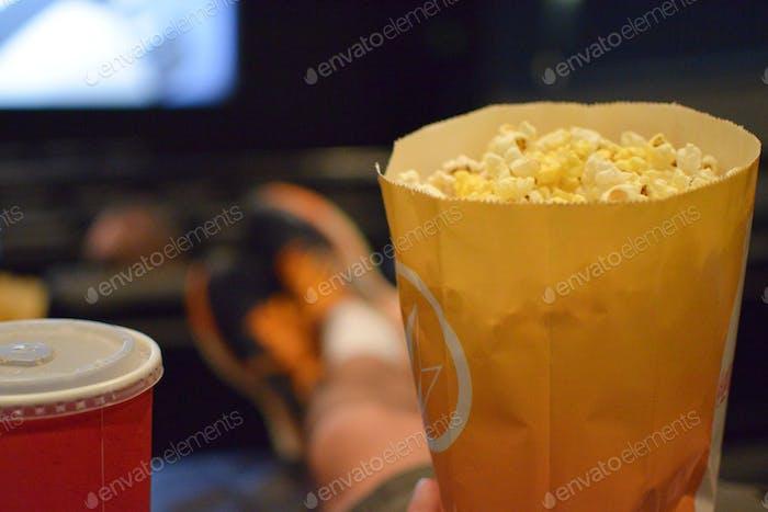 Popcorn and Soda at the Movies