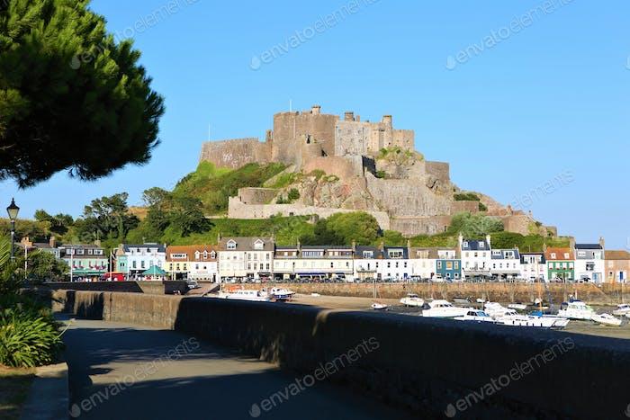 Castle in Jersey, Channel Islands