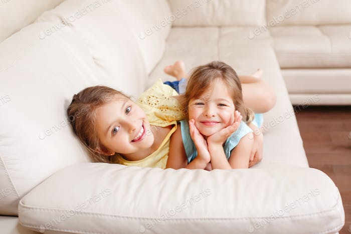 ~~~ Nominated ~~~ sisters; together; authentic; smiling; happy; girls; siblings; bonding; lying;