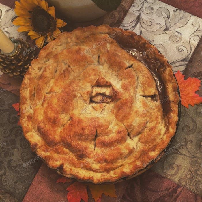 Thanksgiving feiert Essen, das uns in allen Jahreszeiten des Lebens unterstützt