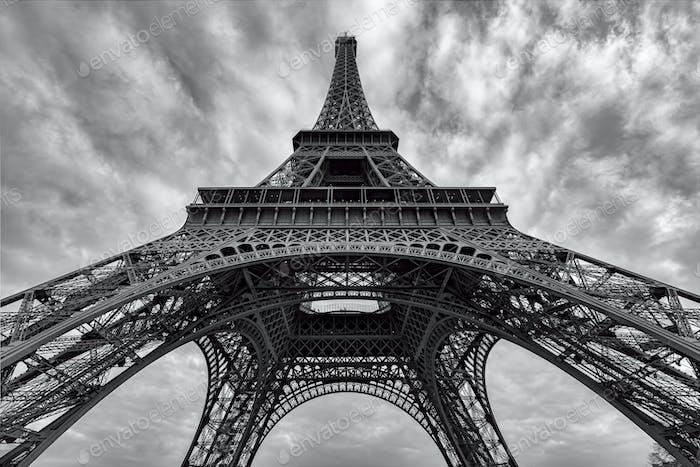 Eiffelturm B&W