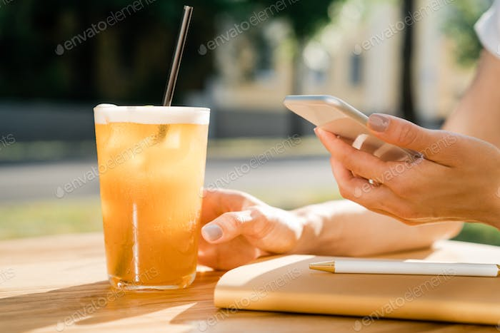 Using mobile device