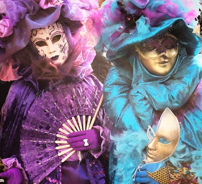 Karnevalskostüme Venedig