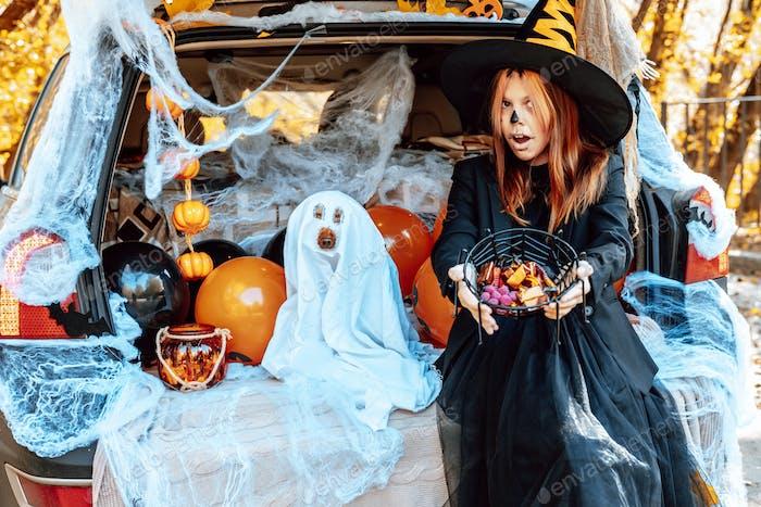 Halloween treat or trick