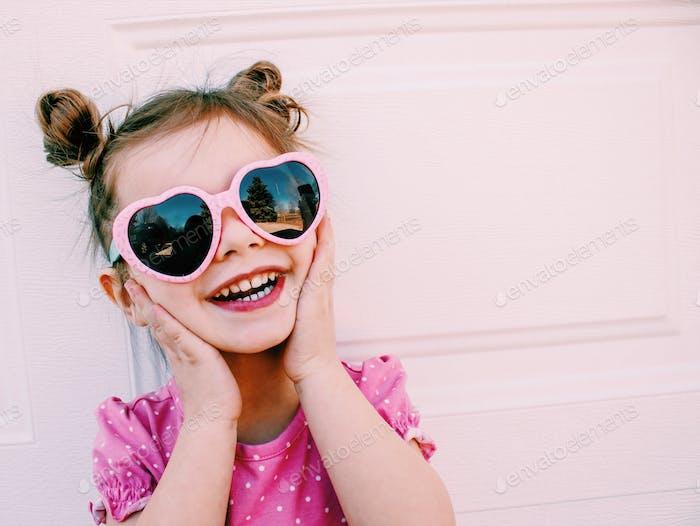 Cute toddler girl in sunnies