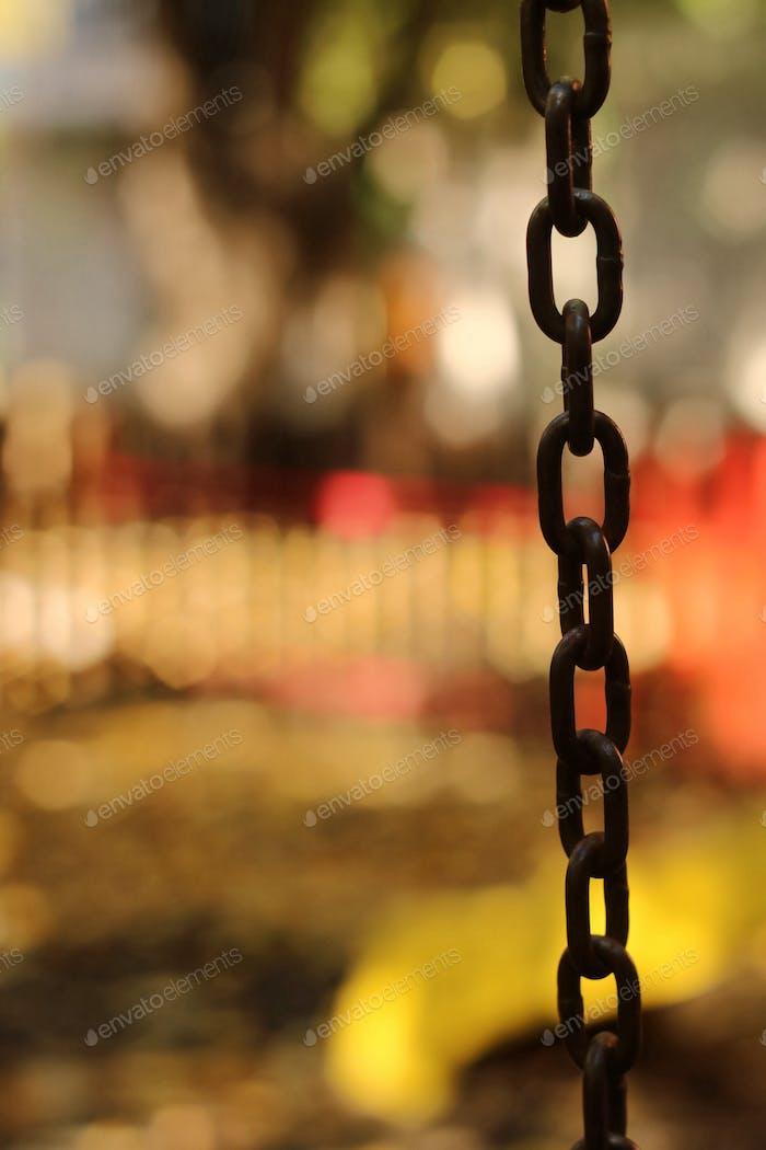 Chain bokeh