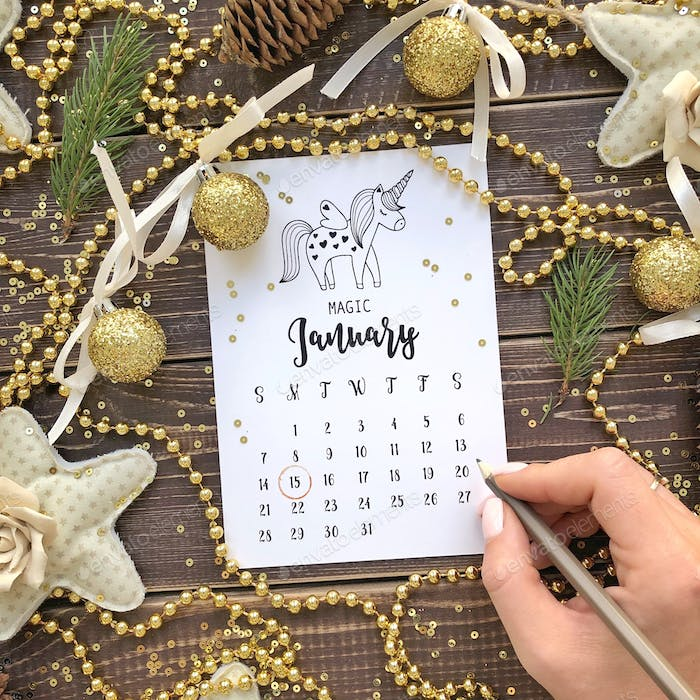 Calendar   It is nominated on February 22, 2018