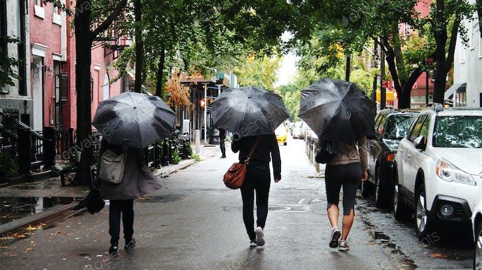 Rainy Day strolling