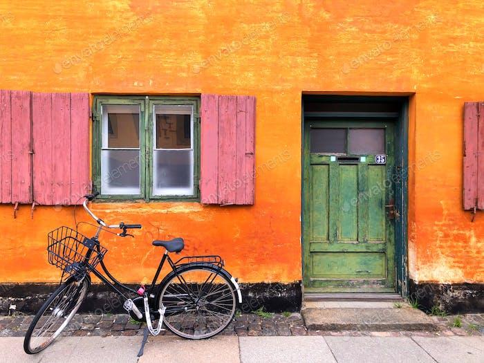 Old Danish house
