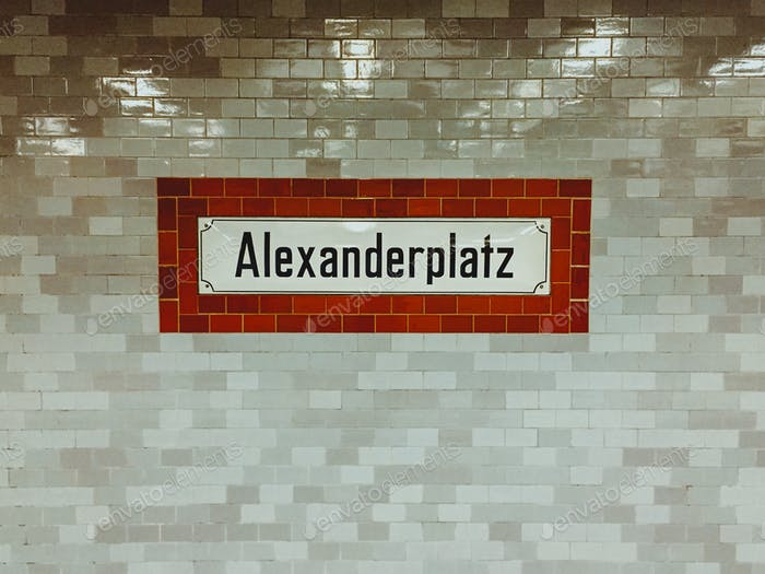 Berlin's Subway
