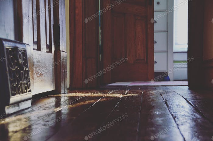 Hallway and Open Door