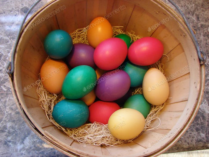 All my rainbow eggs in one basket