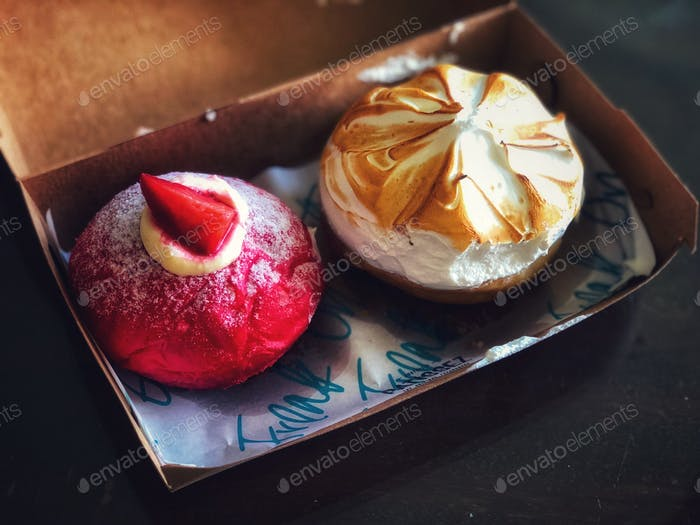 Mouthwatering doughnuts