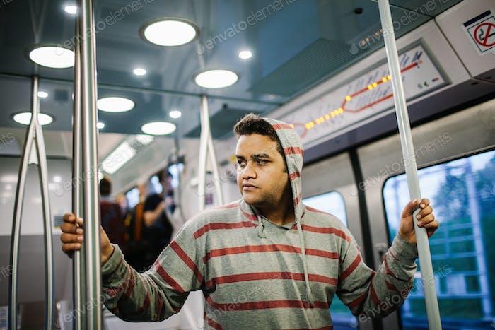 Mental health in the subway of Paris