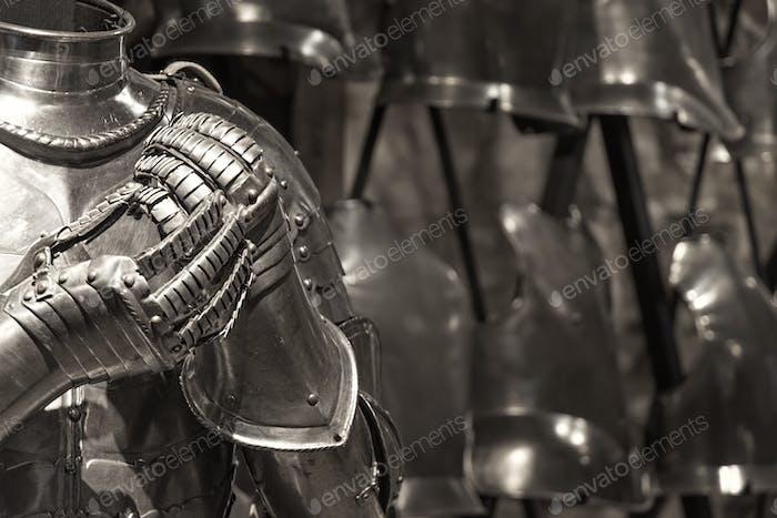 Ritterrüstung im Turm von London