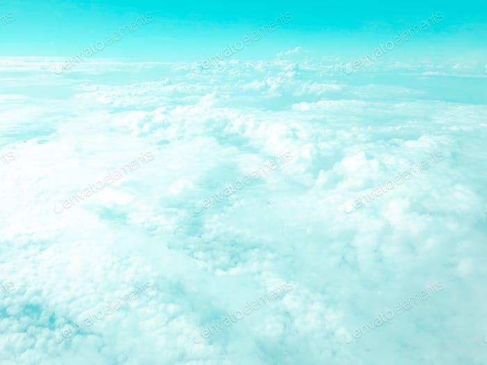 Blue clouds heaven