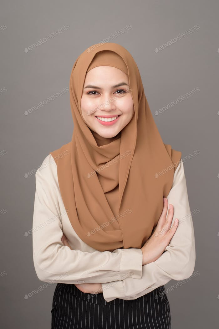 Business woman in hijab