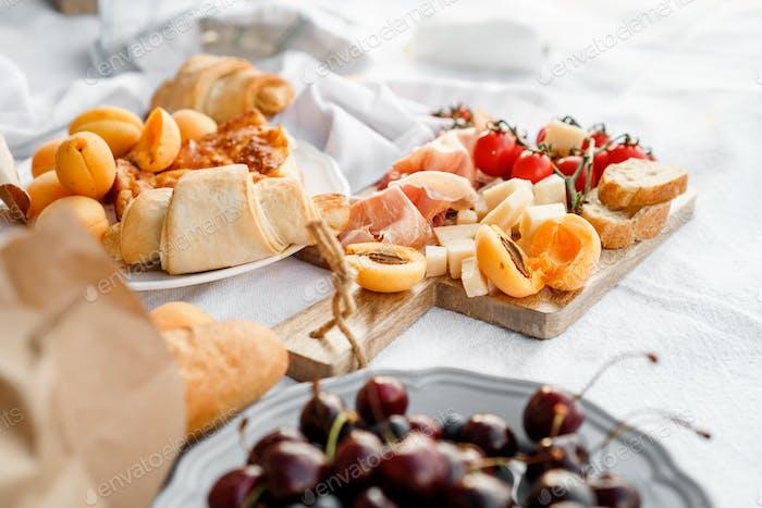 Gastronomy of yummy food