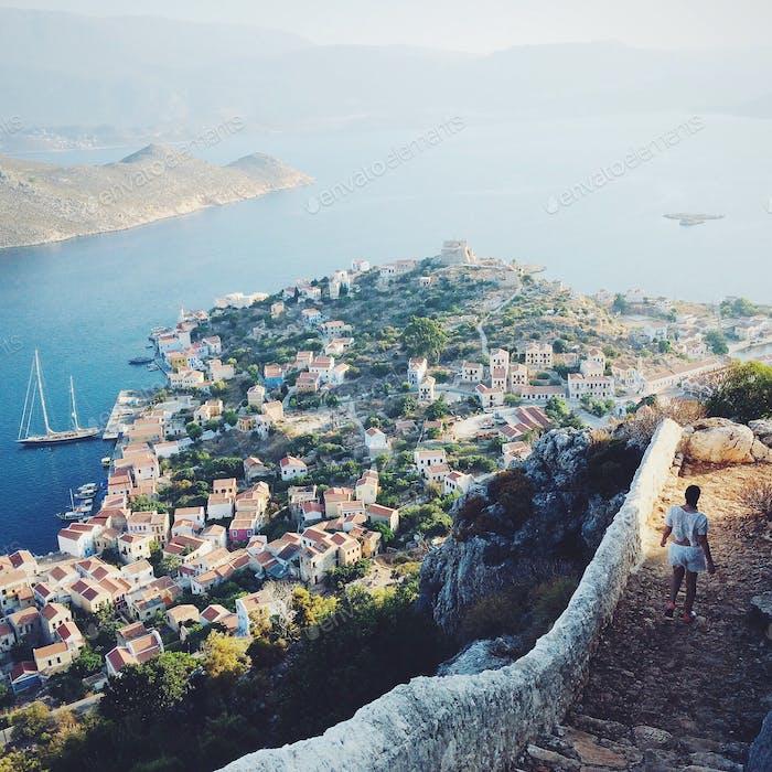Kastellorizo, a small greek island on the far east border or Greece.