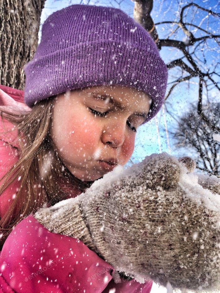 Schneeschlag