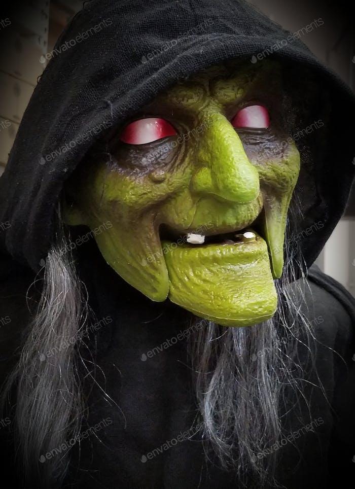 Böse Hexe mit den Gift-Äpfeln!
