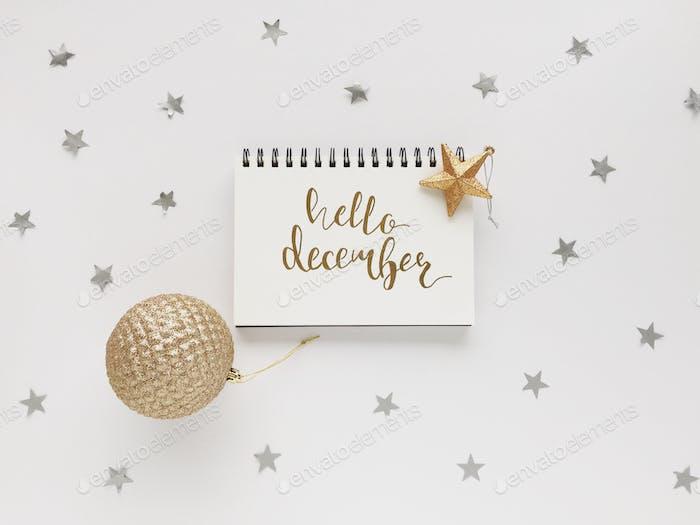 Hallo Dezember!  🌟😀