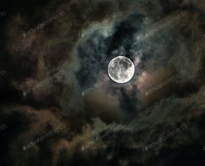 October night sky