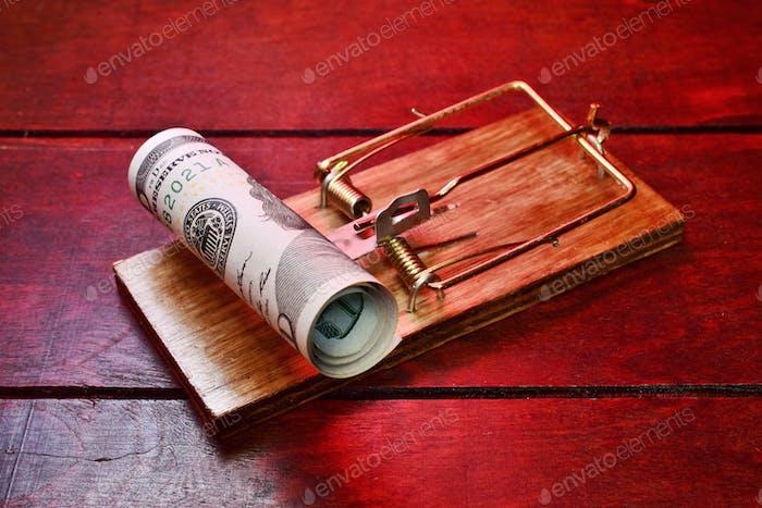 Mausefalle mit Geld