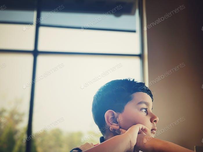Gedanken und Kinderstimmung
