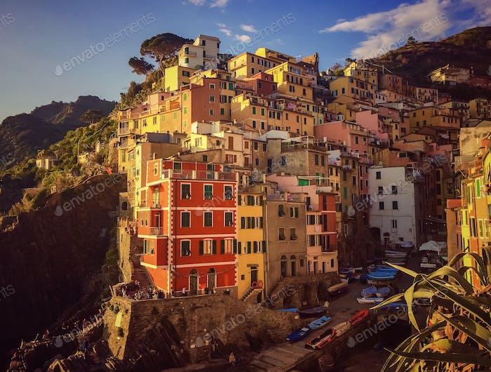Riomaggiore of Cinque Terre