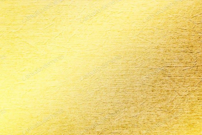 Textura chapada en oro