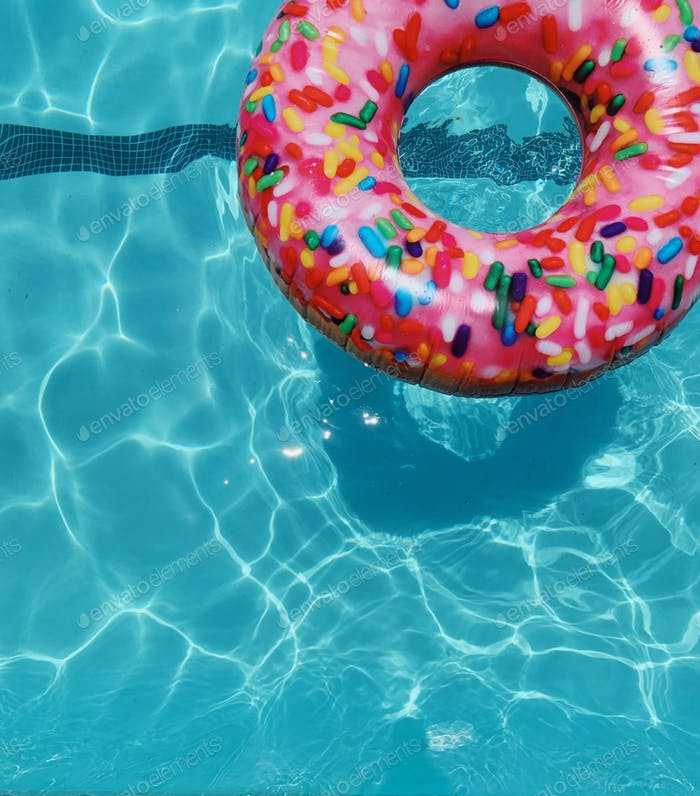 Doughnuts and swimming pools