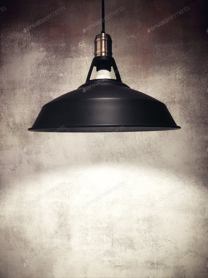 Black lamp