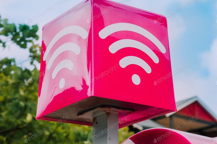 Kostenlose WiFi-Zone