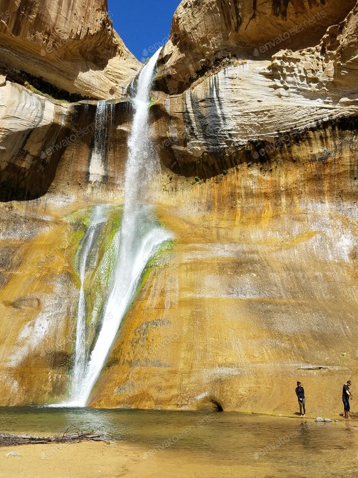 Calf Creek Wasserfälle. Utah