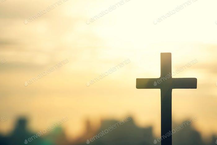 A cross for wishing God