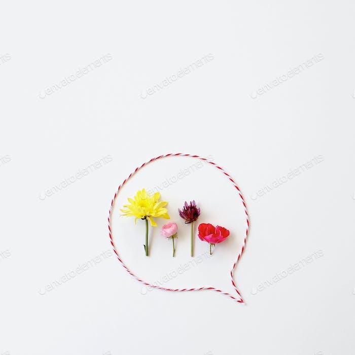 { flower talk }