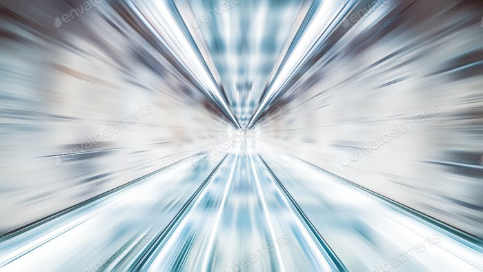 Blur zoom abstract background wallpaper, vanishing point diminishing perspective