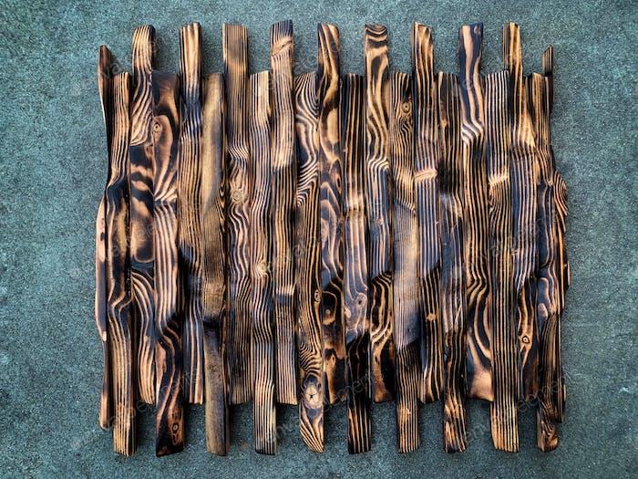 Burned Wood art