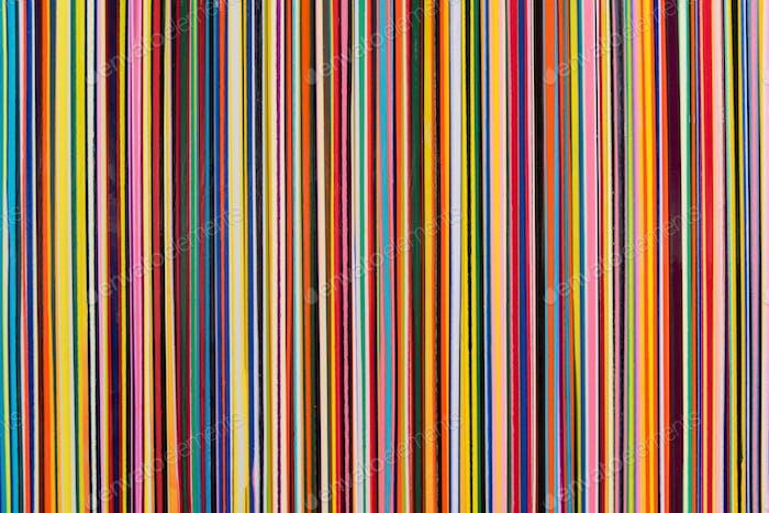 Vertical color stripes