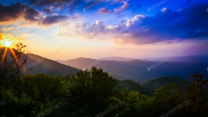 Roan Mountain in East Tennessee