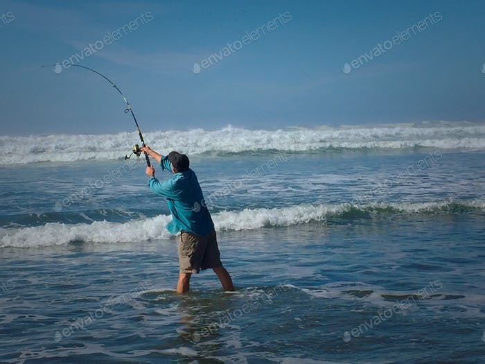 Coastal fisherman