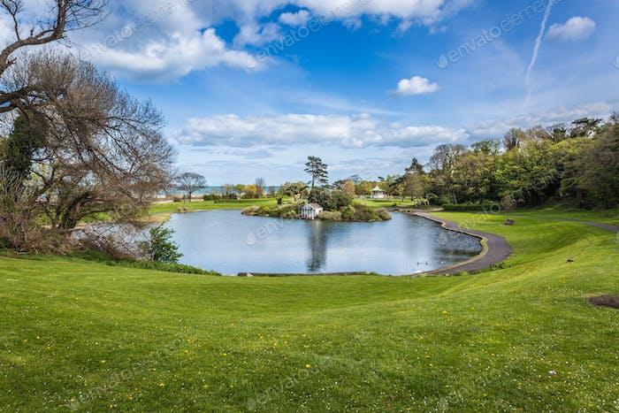 Blackrock Park, Dublin, Ireland.