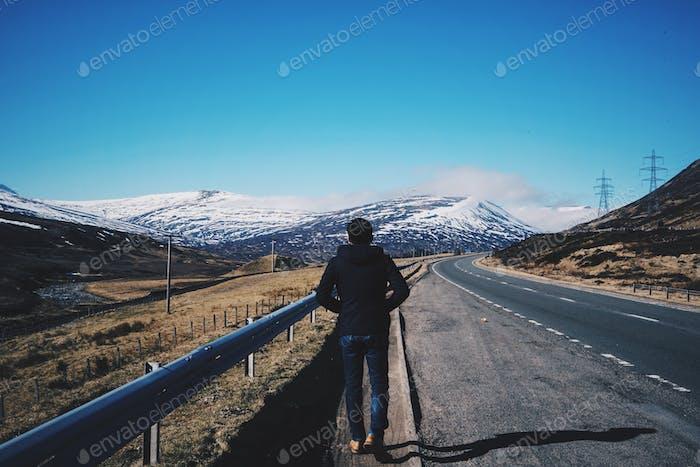 Eine einsame Reise