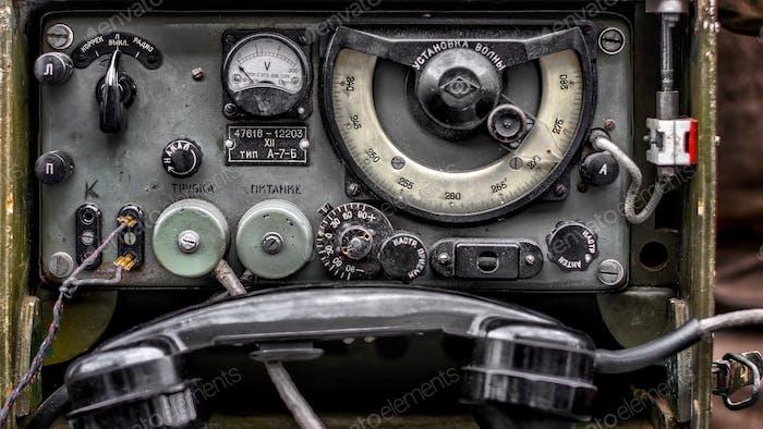 Old analog telephone